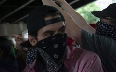 Antifascist At the Portland Protests- JJ Mazzucotelli