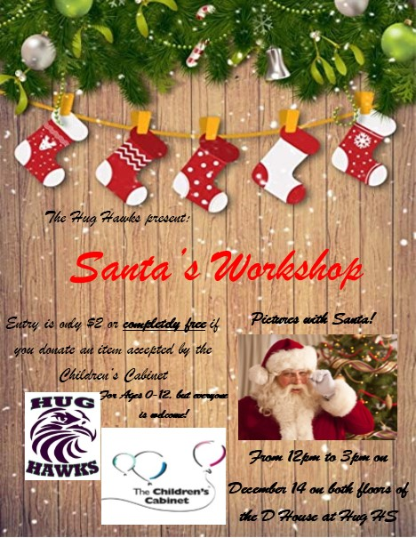 Santa's Workshop- A Major Event