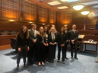 Hug Hawks Mock Trial Heads to State Competitions